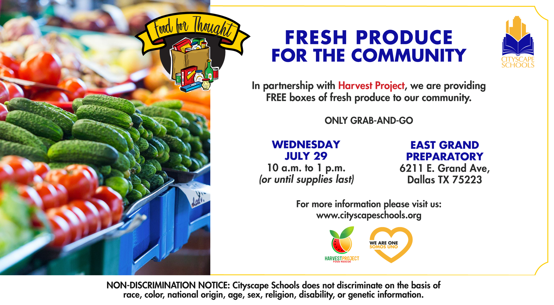 Fresh produce for the community