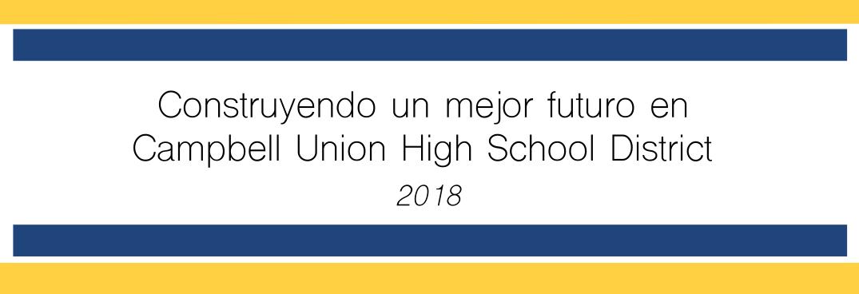 Imagen de la Construyendo un futuro más brillante en el Distrito Escolar Secundario Campbell Union - 2018