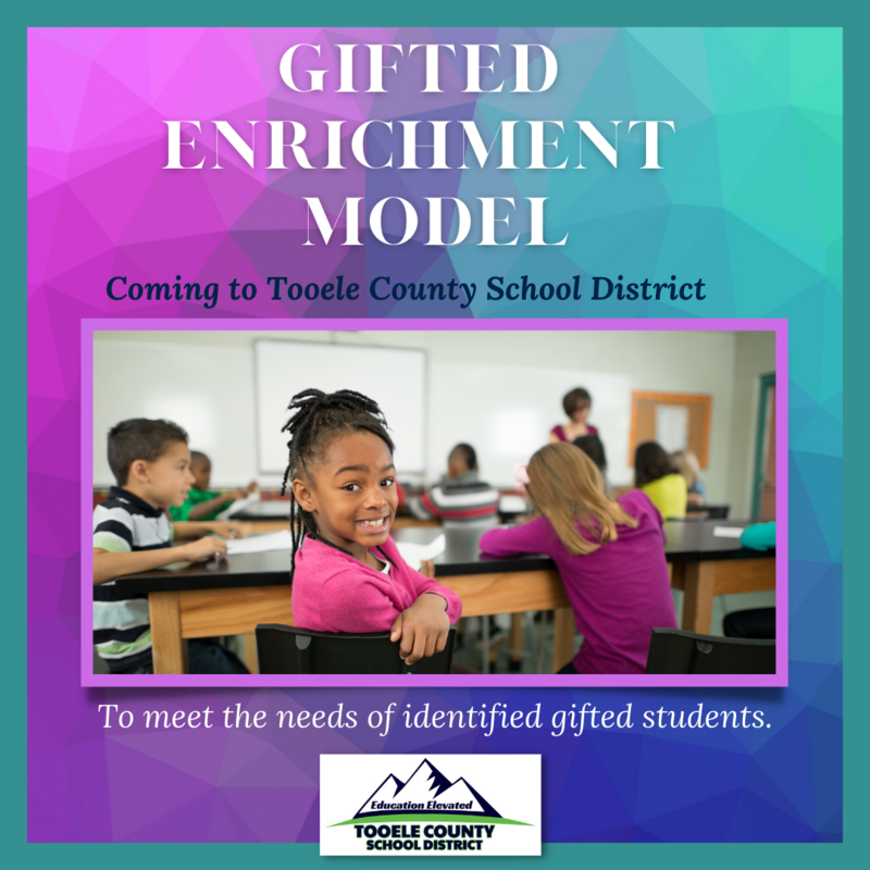 TCSD welcomes the Gifted Enrichment Model Thumbnail Image