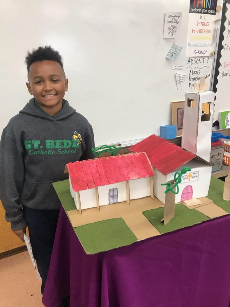 One of the highlights in 4th grade is the California Missions project.