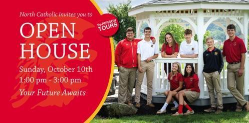 North Catholic Fall Open House