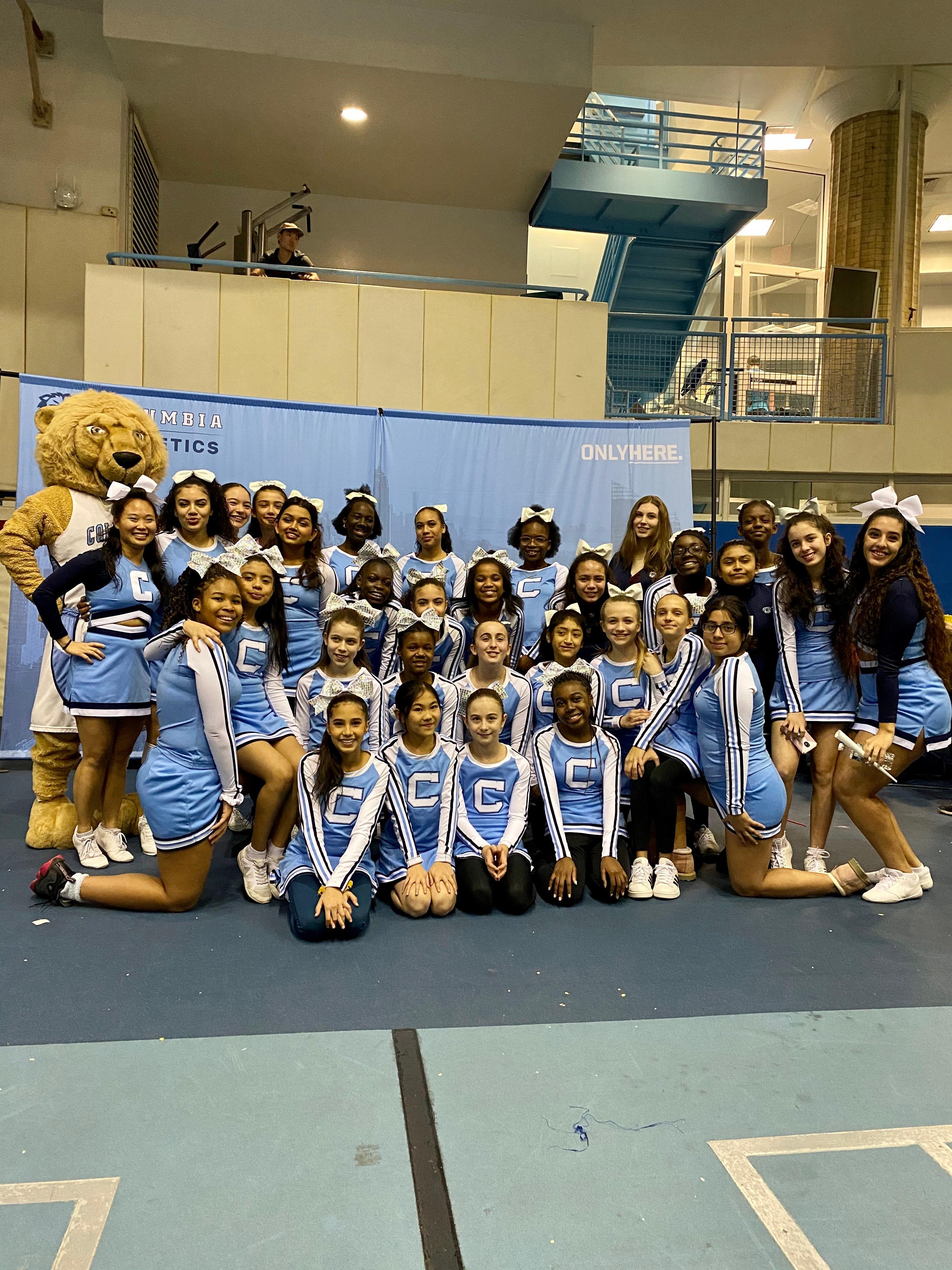 Spirit Squad At Columbia