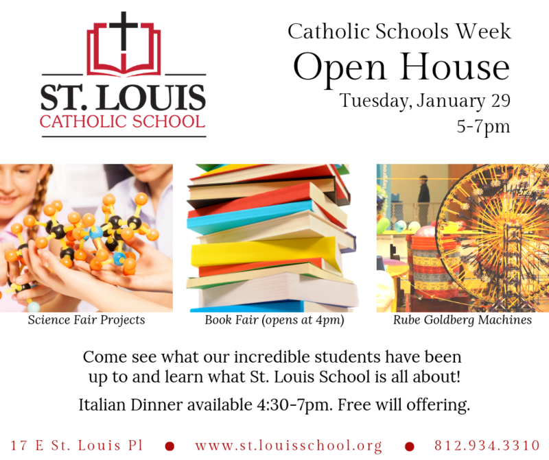 St. Louis School Open House/Italian Night Thumbnail Image