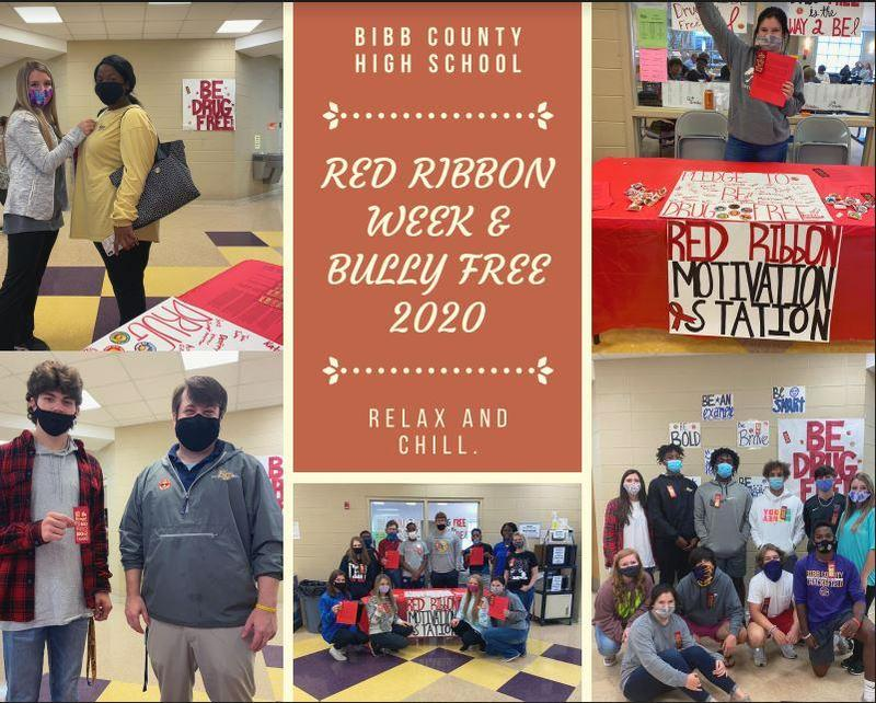 Students celebrate Red Ribbon Week & Bully Free 2020