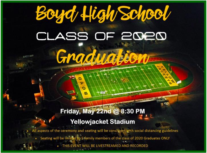 Boyd High School Class of 2020 Graduation Thumbnail Image