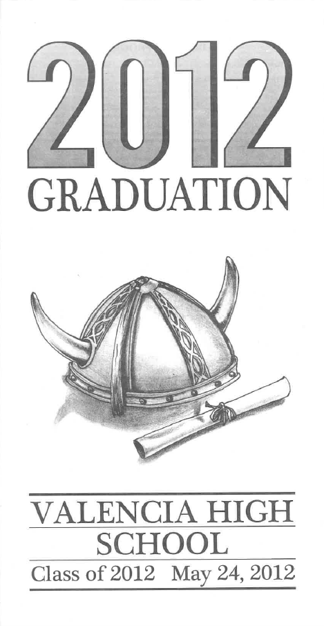 2012 program cover design by Marissa Lowenberg
