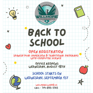 2021 Back to School Message