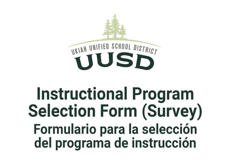 Instructional Program Form with uusd logo