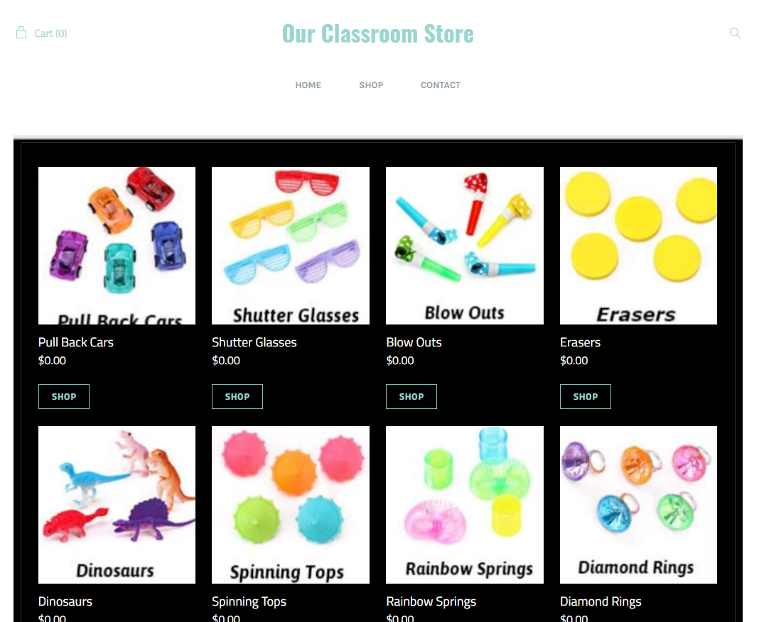 Our Class Store
