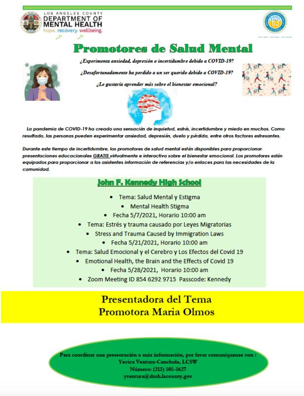 Mental Health Stigma • Tema: Salud Mental y Estigma Featured Photo