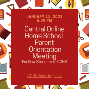Central Online Parent Information Night Meeting