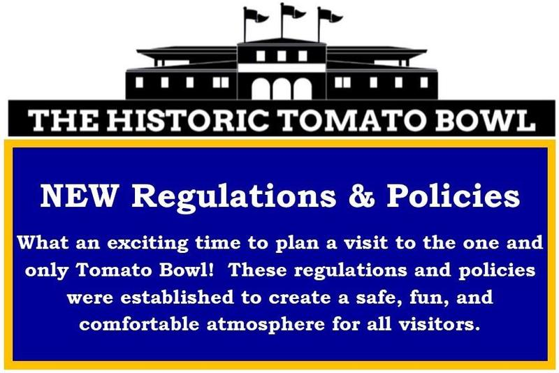 picture of the new tomato bowl policies
