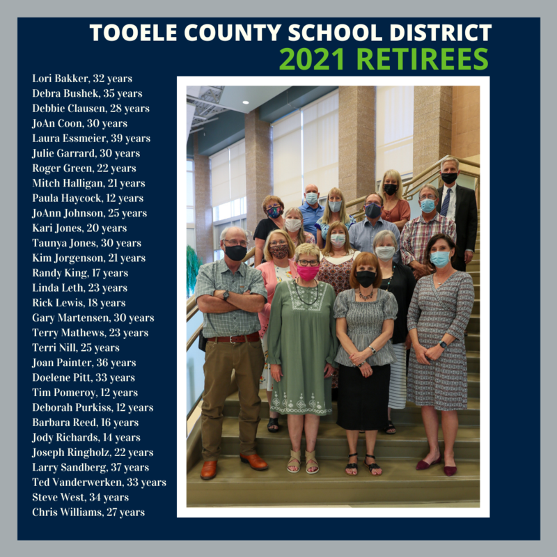 TCSD honors retirees in annual banquet Thumbnail Image