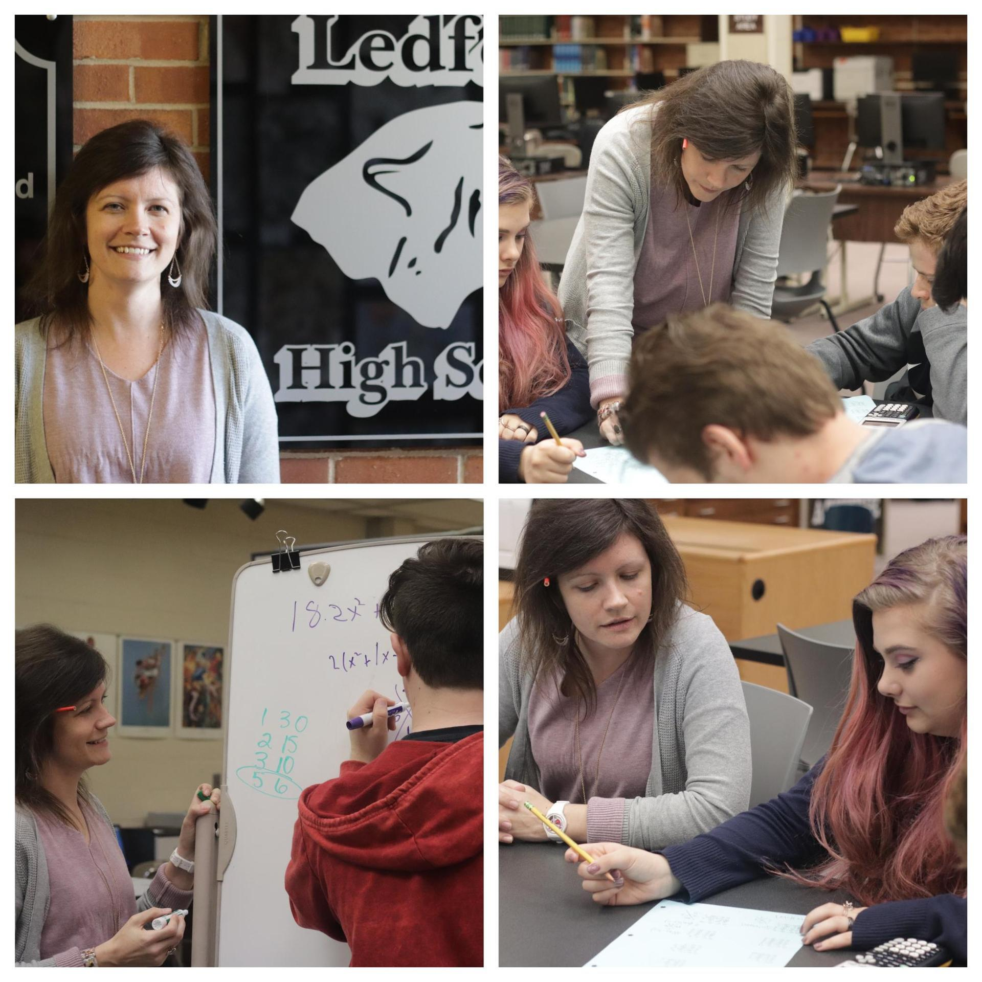 Megan Tetter - LHS Teacher of the Year