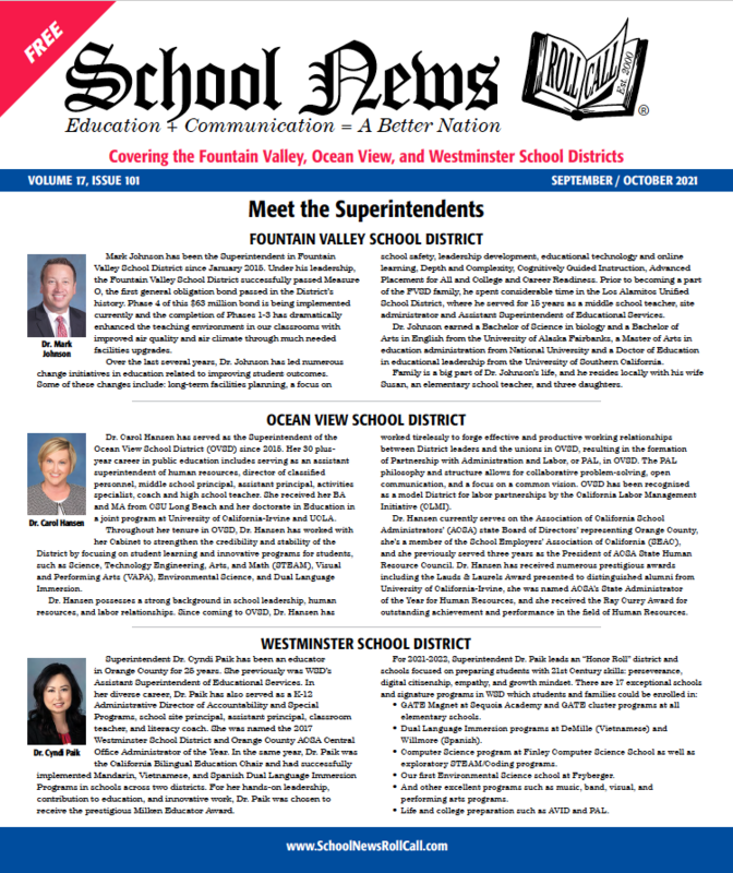 School News - Biography Issue, September 2021