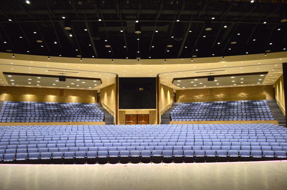 full auditorium with seating
