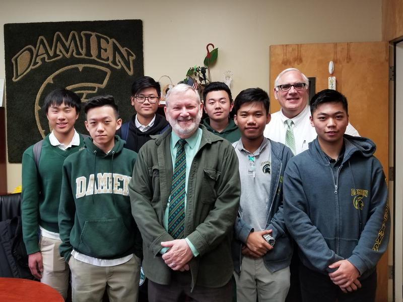 International Students Will Represent Damien All Across the U.S. Featured Photo