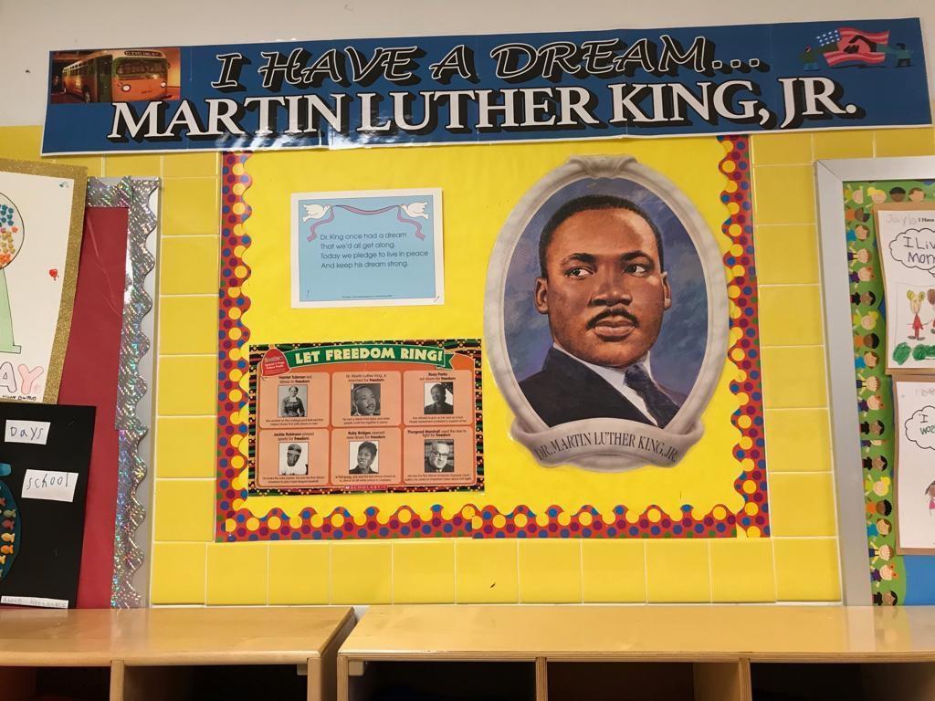 martin luther king bulletin dipslay
