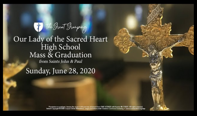 image for the video of the 2020 OLSH Graduation