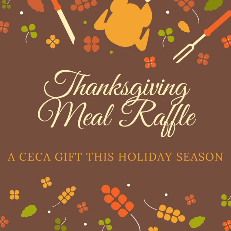 Thanksgiving Meal Raffle