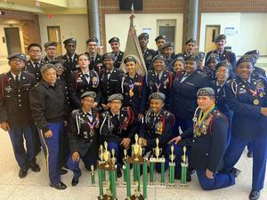 HHS JROTC Drill Team