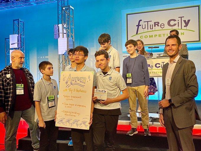 Aurora Team at national Future City competition