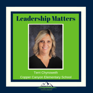 Terri Chynoweth - Copper Canyon Elementary Principal