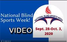 Blind Sports Week video