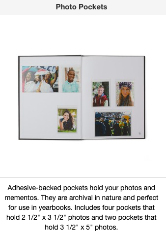photo pockets