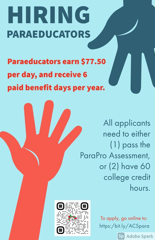 Paraeducator Flyer
