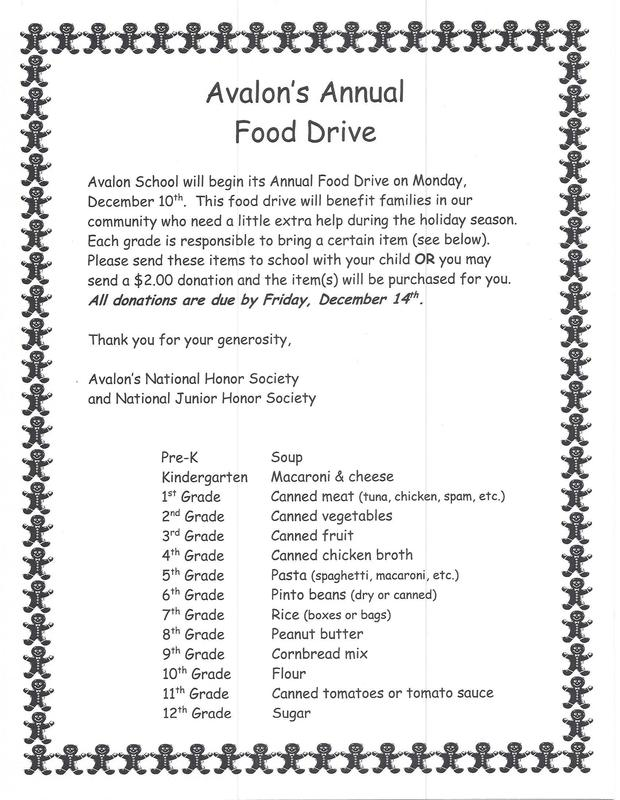 Annual Food Drive - Now until Friday, Dec 14! Featured Photo