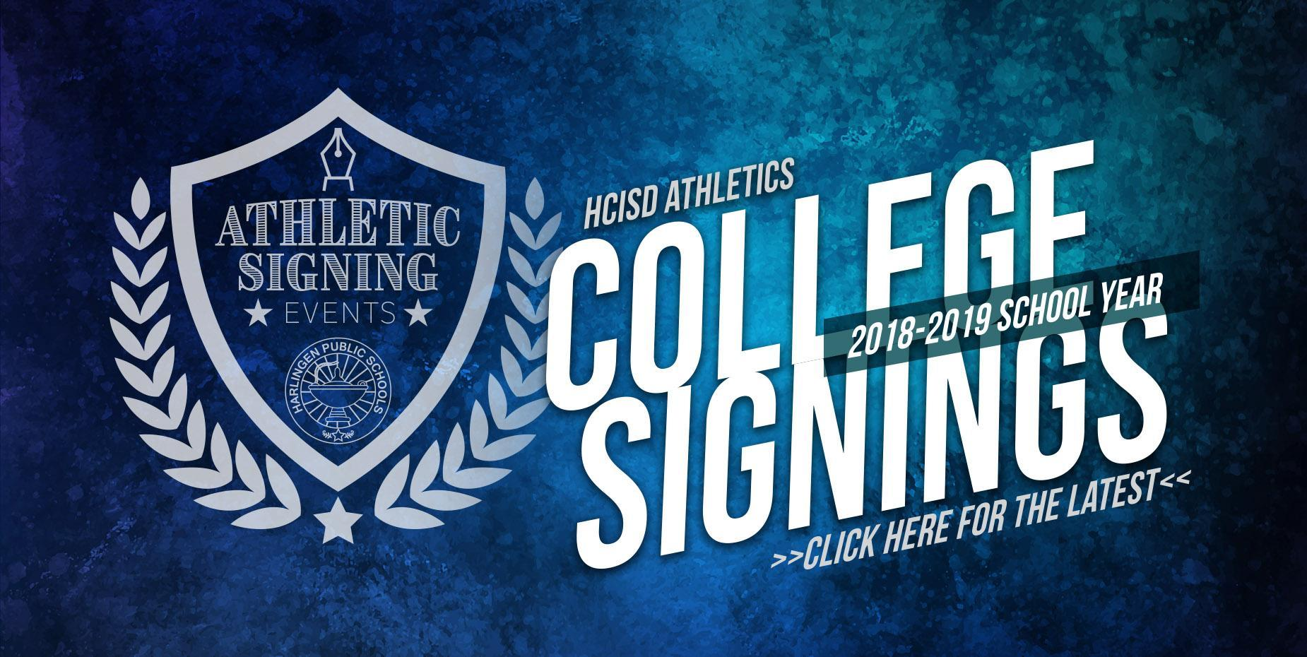 HCISD Athletics 2018-2019 signings