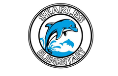 Searles Logo- Dolphin with schools name