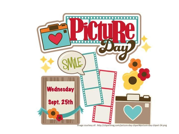 Picture Day is Wednesday, September 25, 2019.  Bring your best Hornet smile!