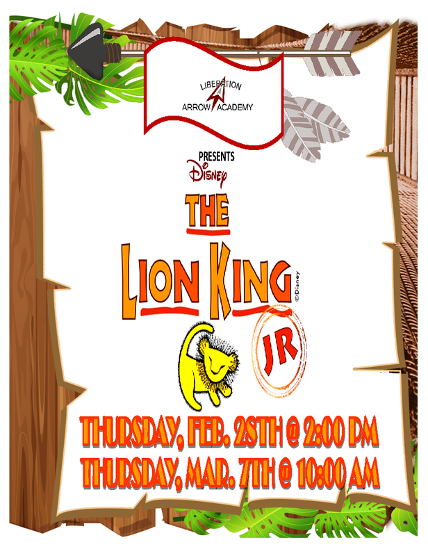 Disney The Lion King, Jr. Theater Presentation Featured Photo
