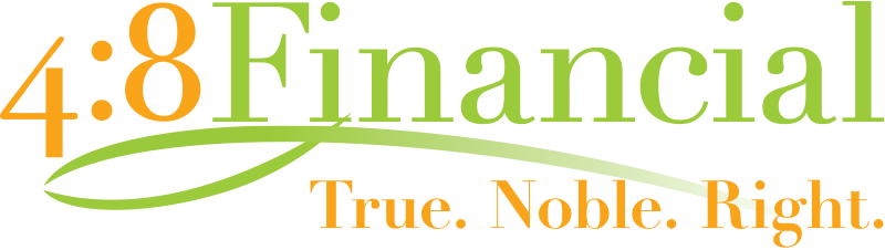 4:8 financial logo