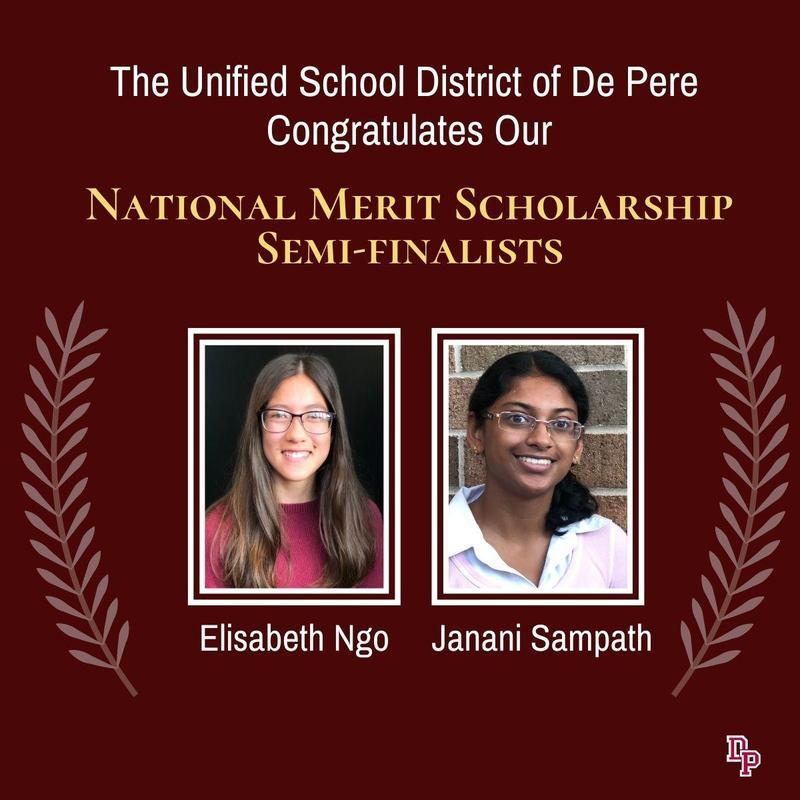 National Merit Scholarship semi-finalists