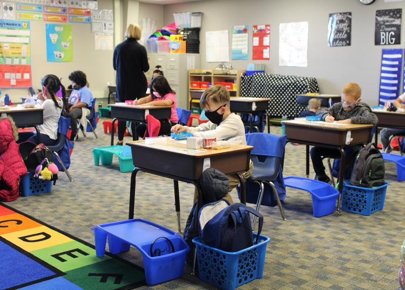 Grades K – 2 First Week Back at Ahtanum Valley Elementary Featured Photo