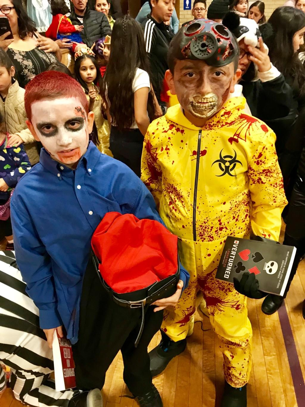 Scary costumes
