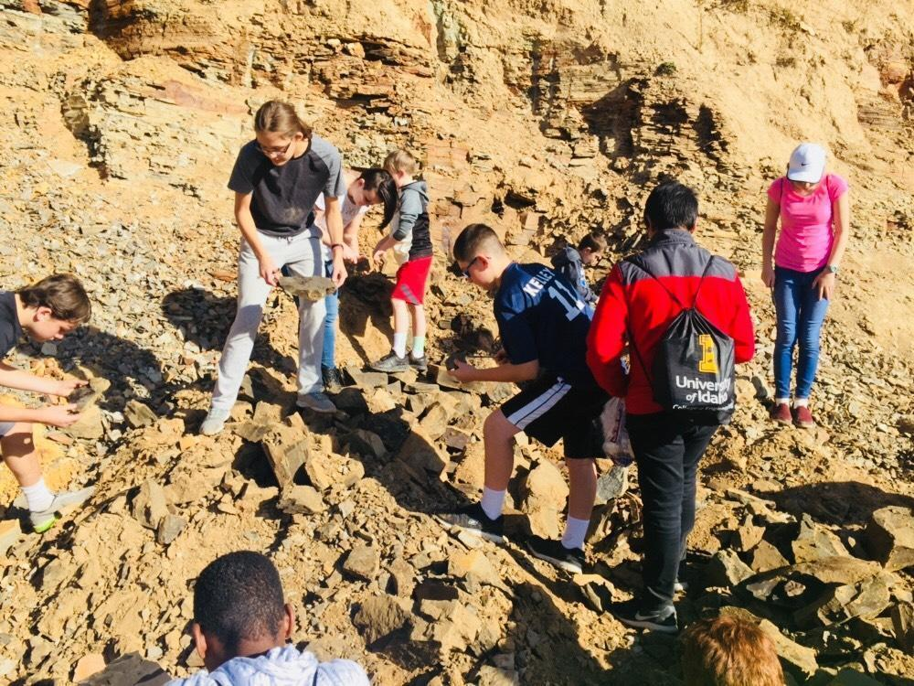 Middle School Clarkia Fossil Dig