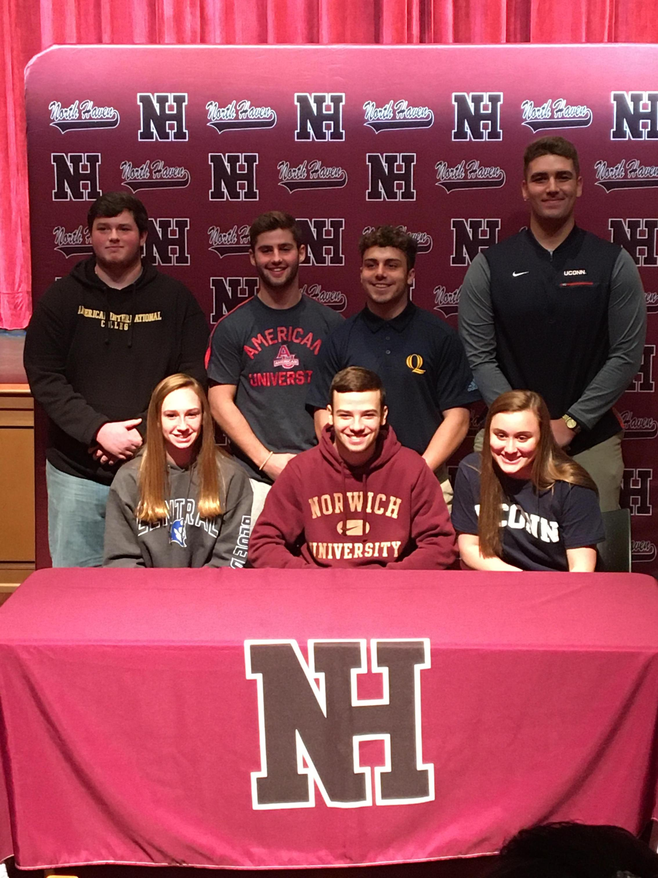 Our student-athletes who committed to competing in college athletics