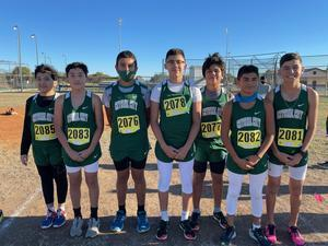 Mustang XC team competes in District competition. Featured Photo