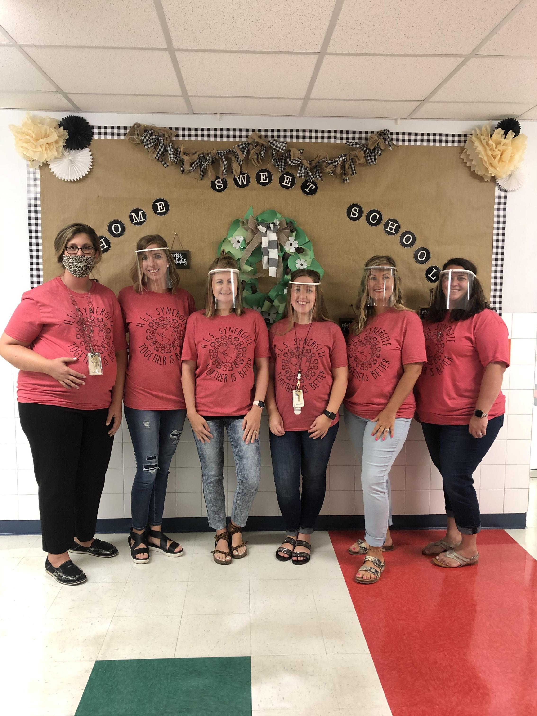 Picture of 2nd grade teachers.