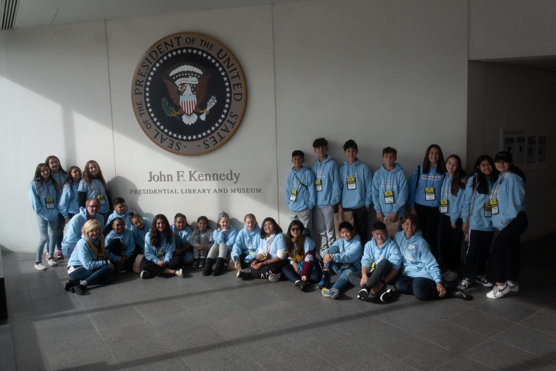Middle school east coast trip