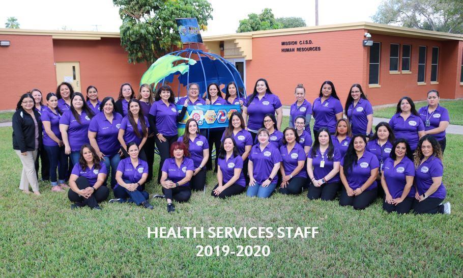Health Services staff 2019-20
