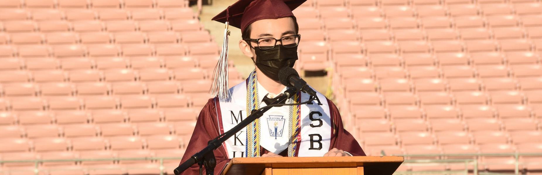 MKHS 2021 Graduation Student Speaker