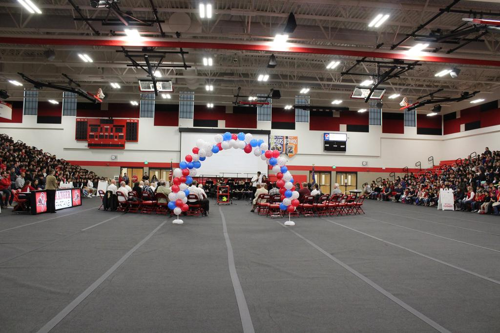 Picture of Veterans Day Assembly