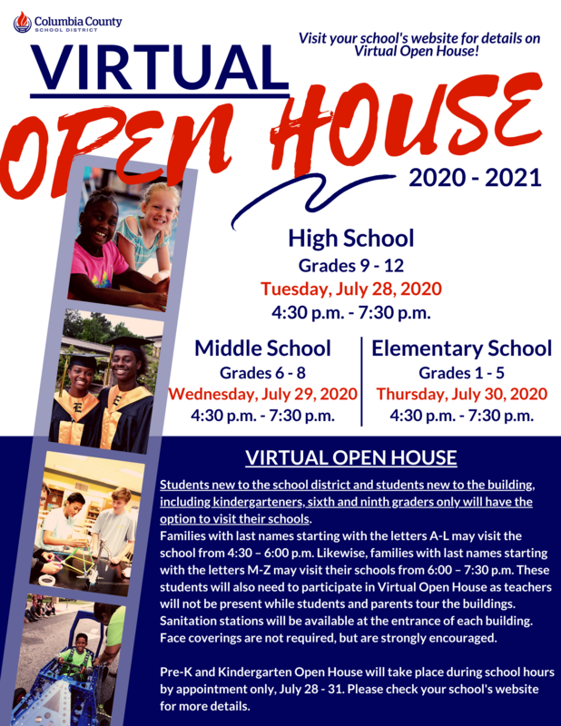 Virtual Open House Infographic