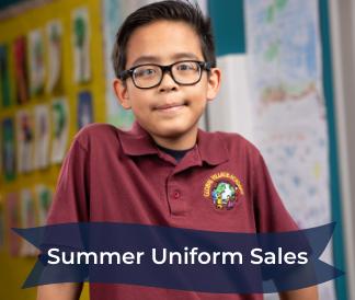 summer uniform sales