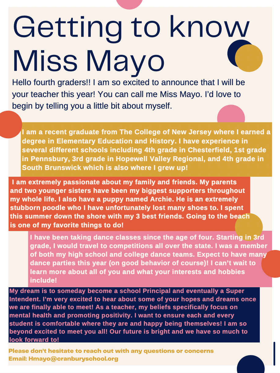 All about Miss Mayo